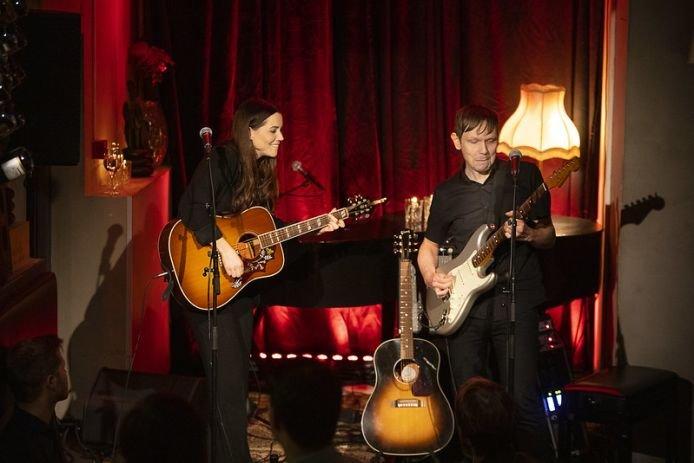 Marion Ravn og Jan Ole Kristensen på Syd i Molde